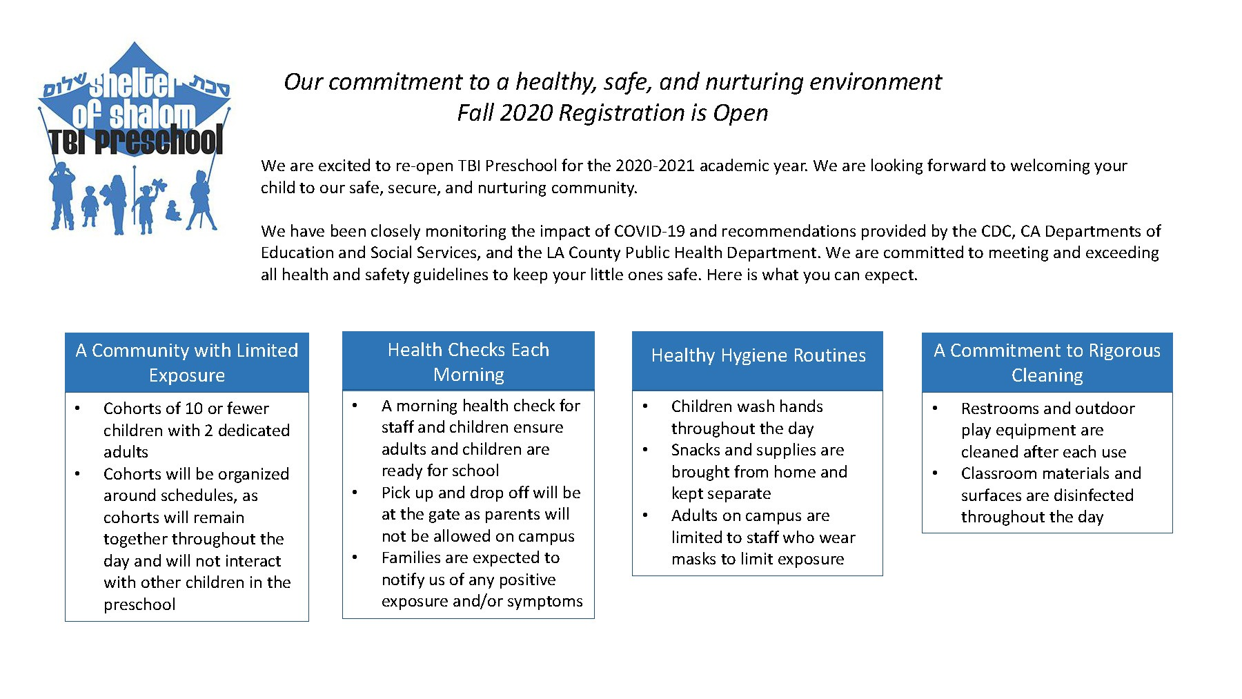 Fall 2020 Covid-19 Reopening Plan